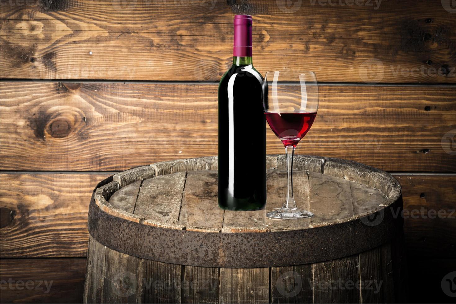 garrafa de vinho, vinho, garrafa foto
