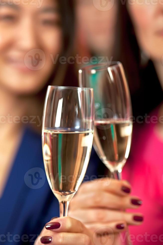 tilintar de copos. foto