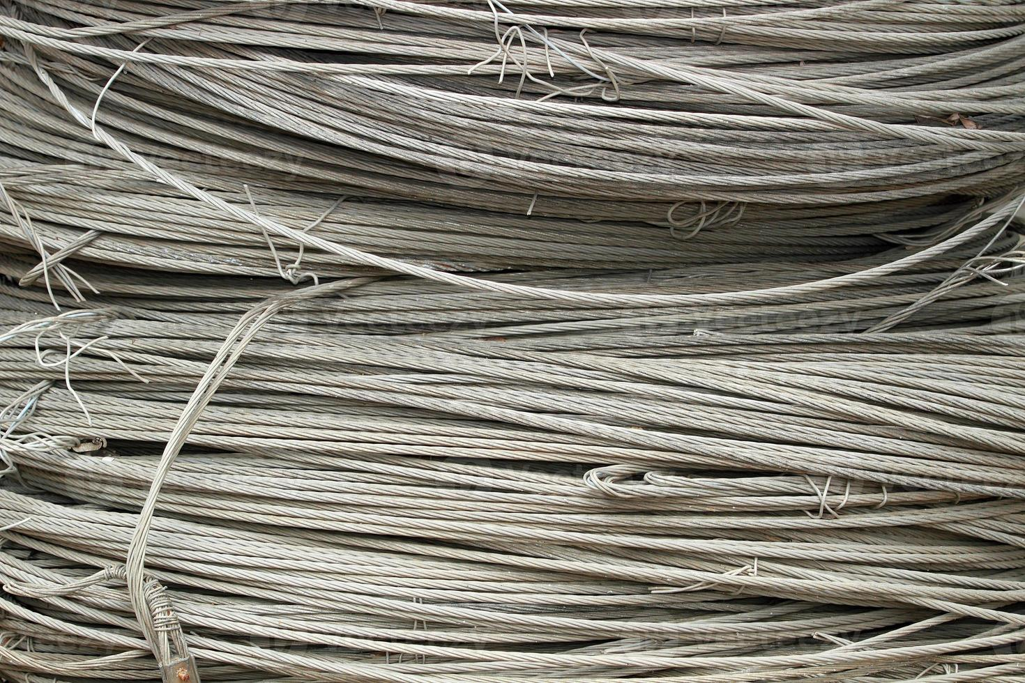 fundo tecnológico de corda de aço foto