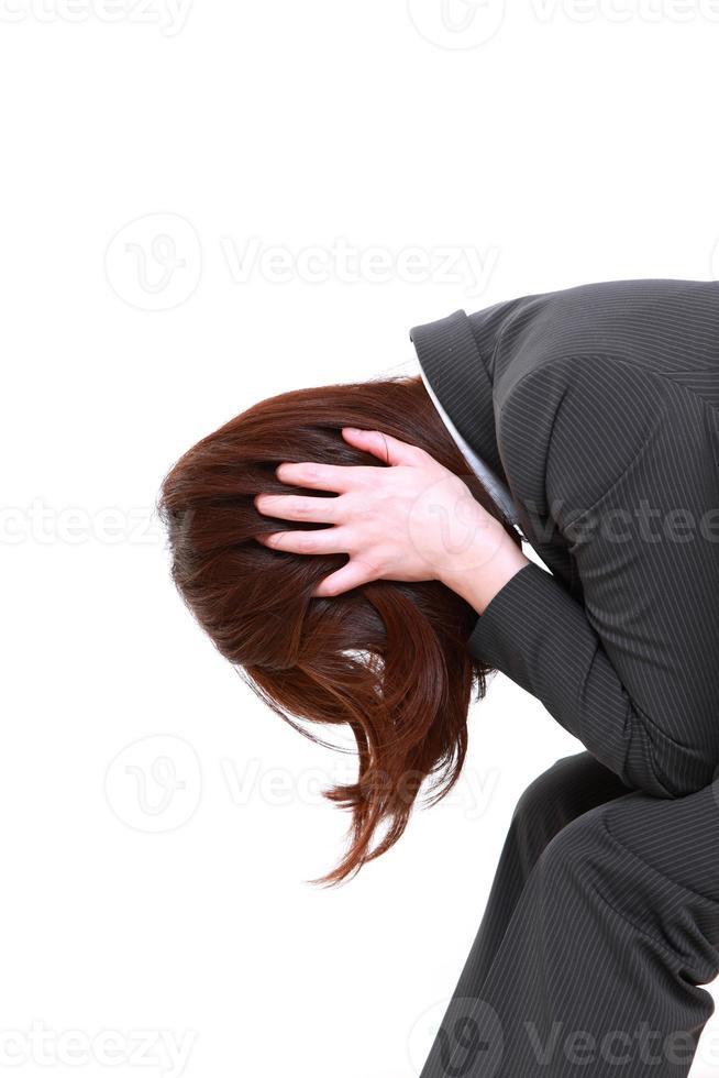empresária deprimida foto