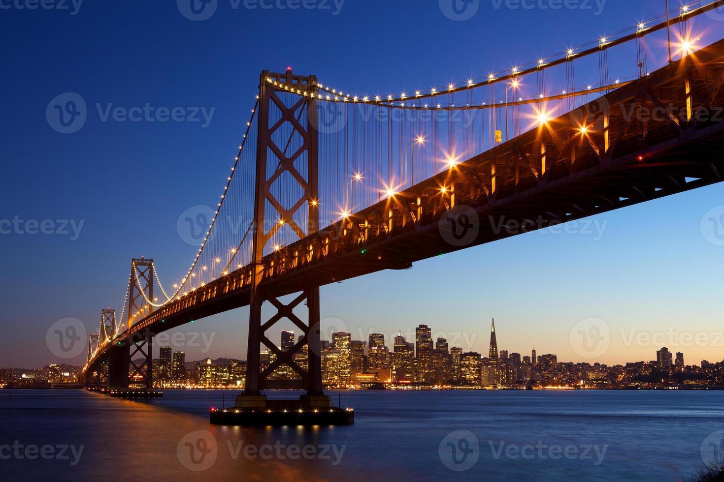 skyline de são francisco foto