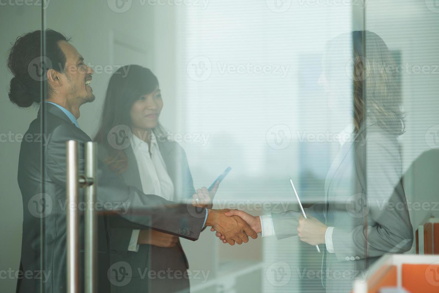 antes da reunião de negócios foto