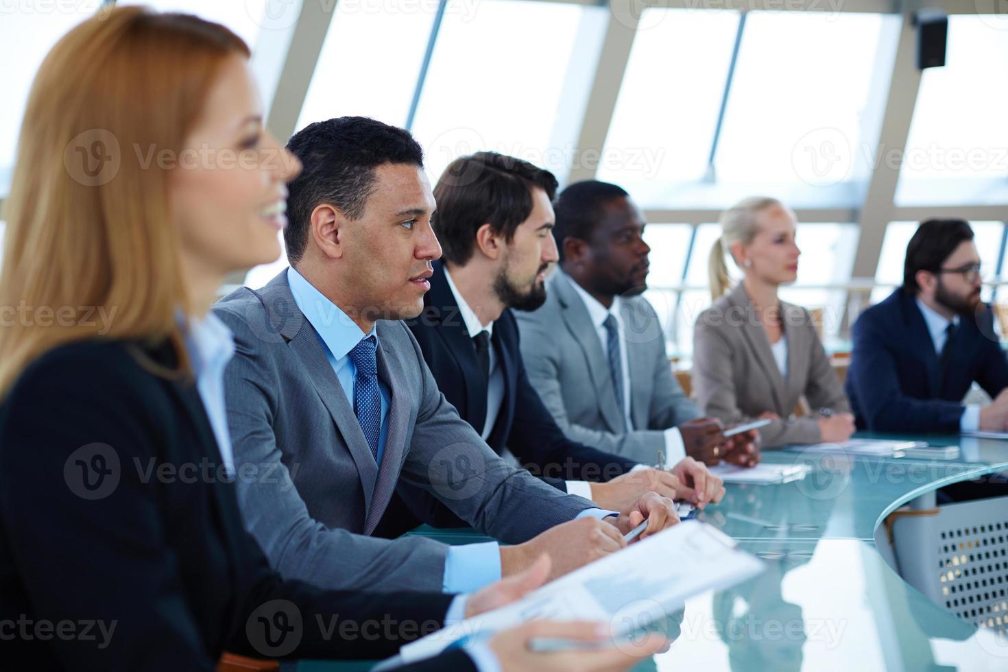 seminário de negócios foto