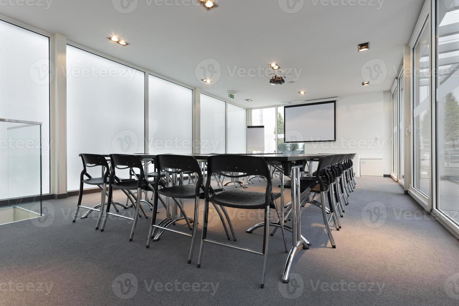 moderna sala de conferências foto