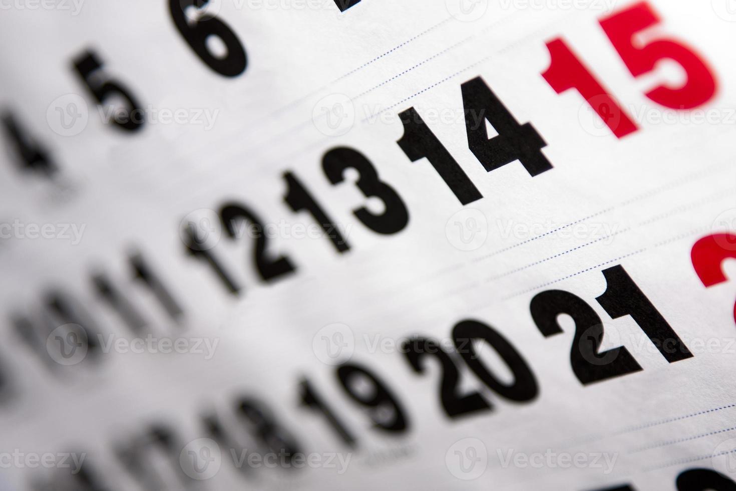 calendário foto