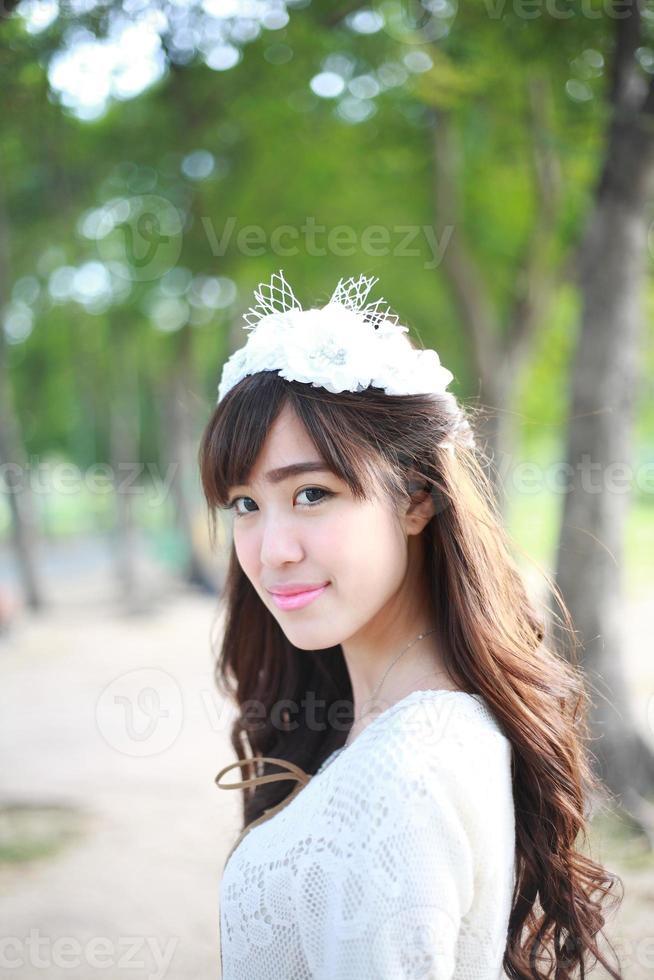 garota bonita foto