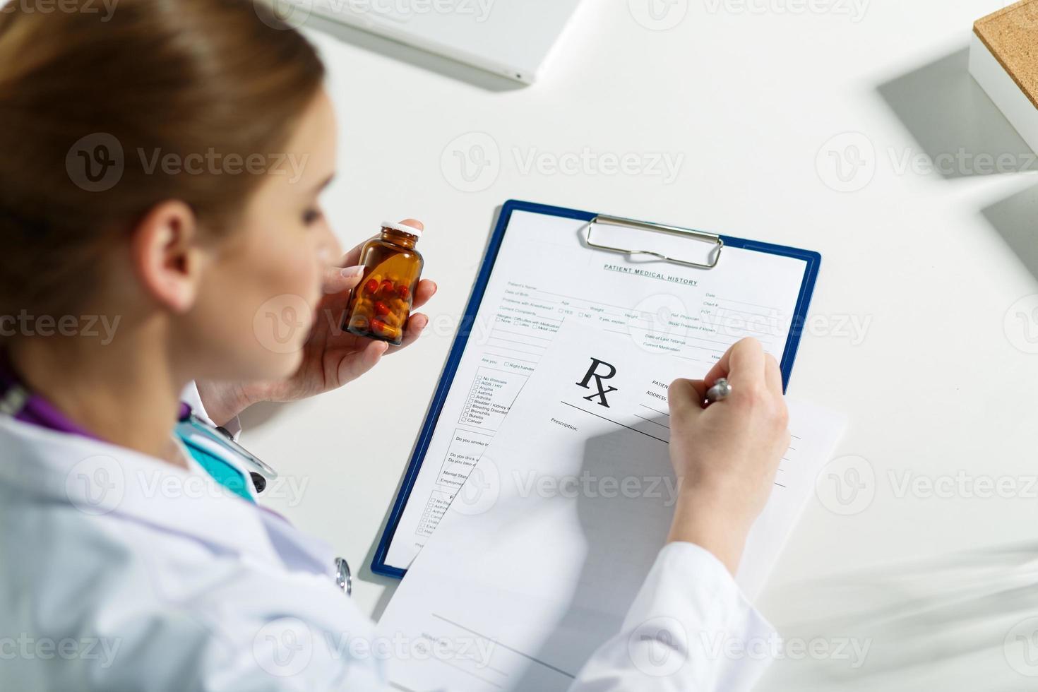 lista de prescrição foto