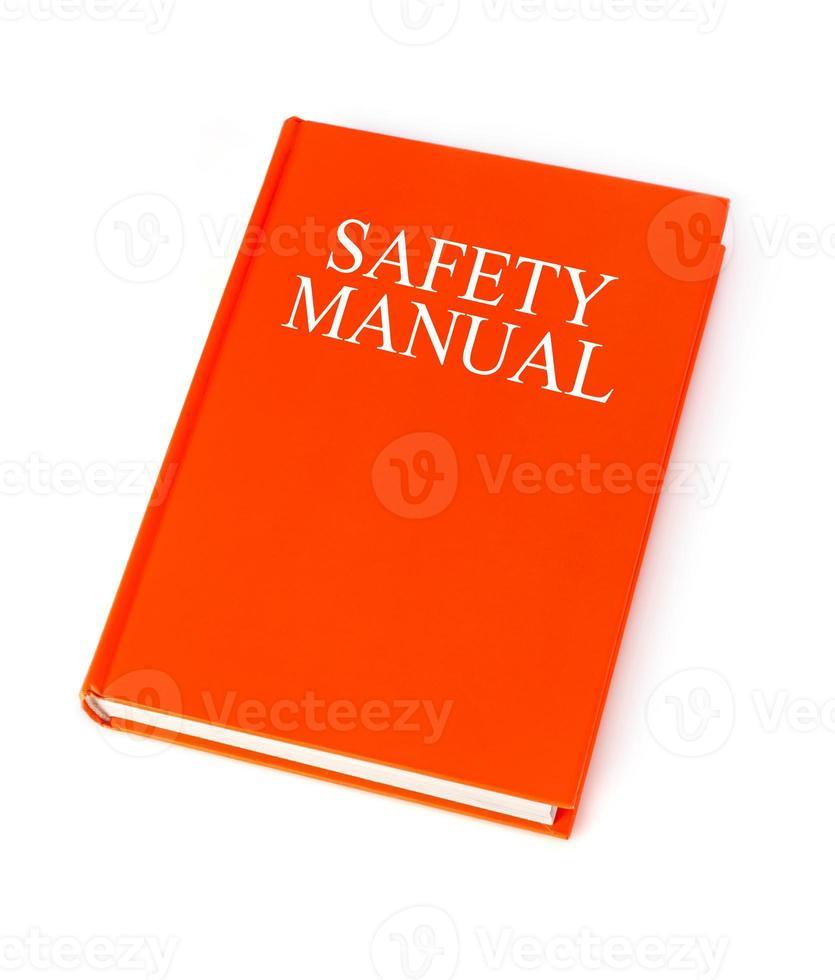 manual de segurança foto