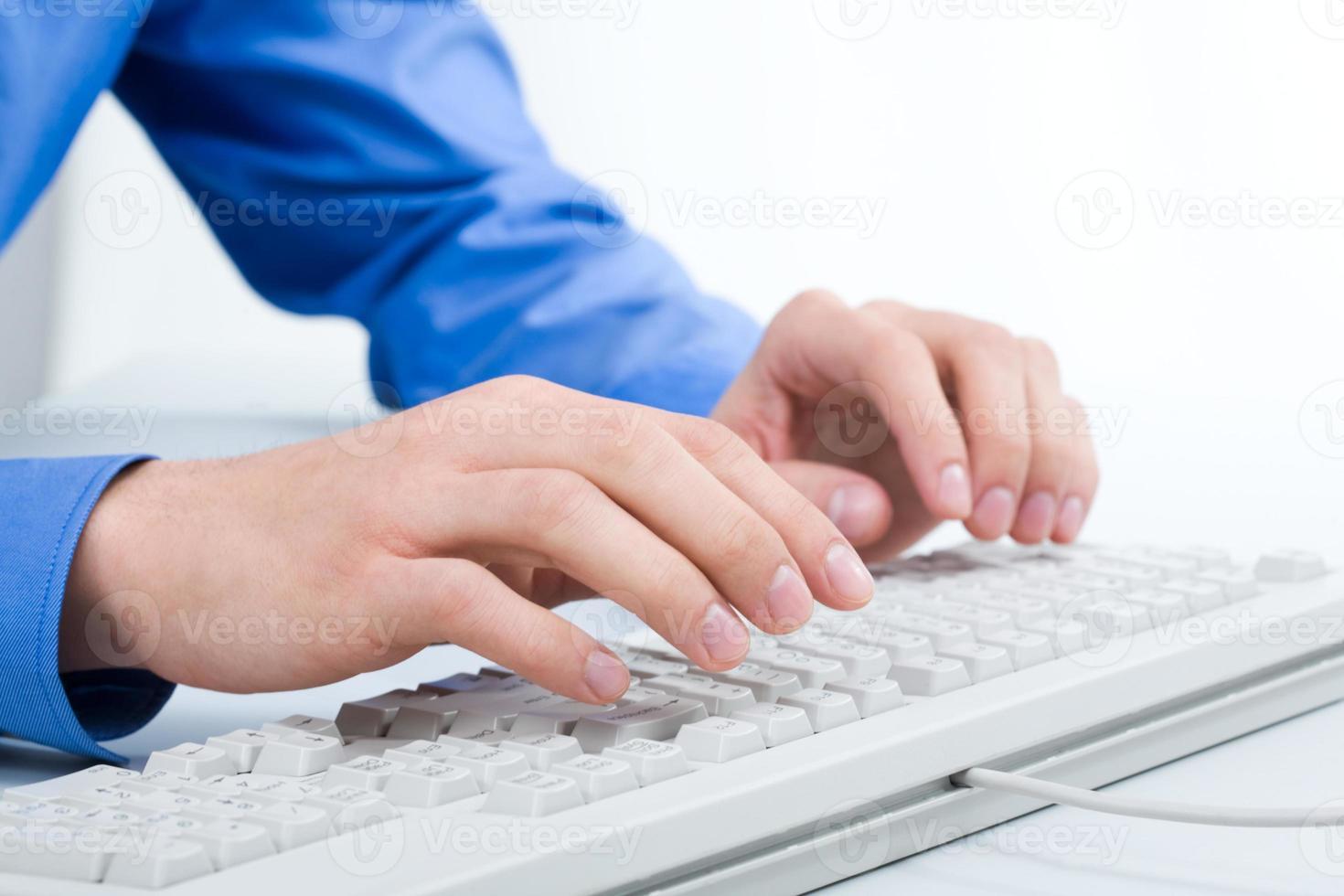 trabalho no computador foto
