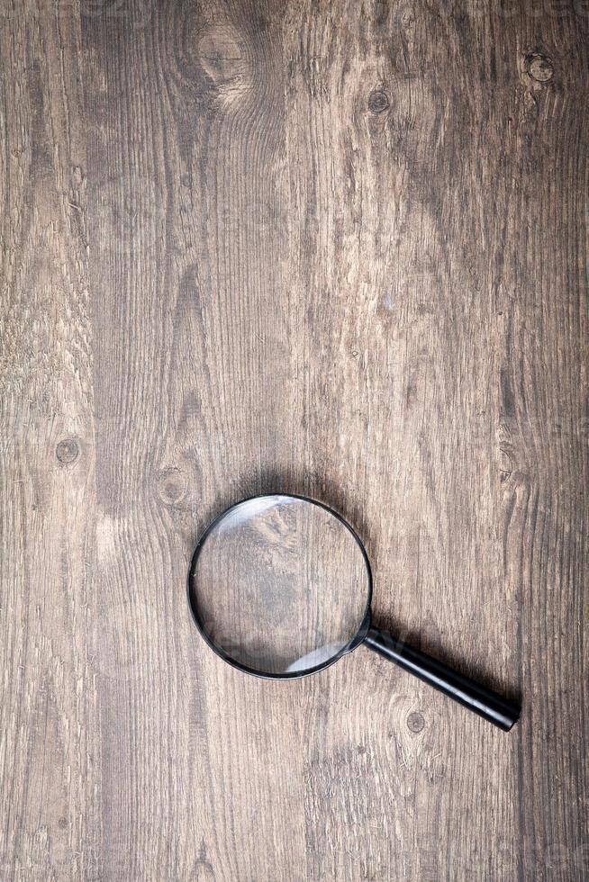 lupa, símbolo de pesquisa foto
