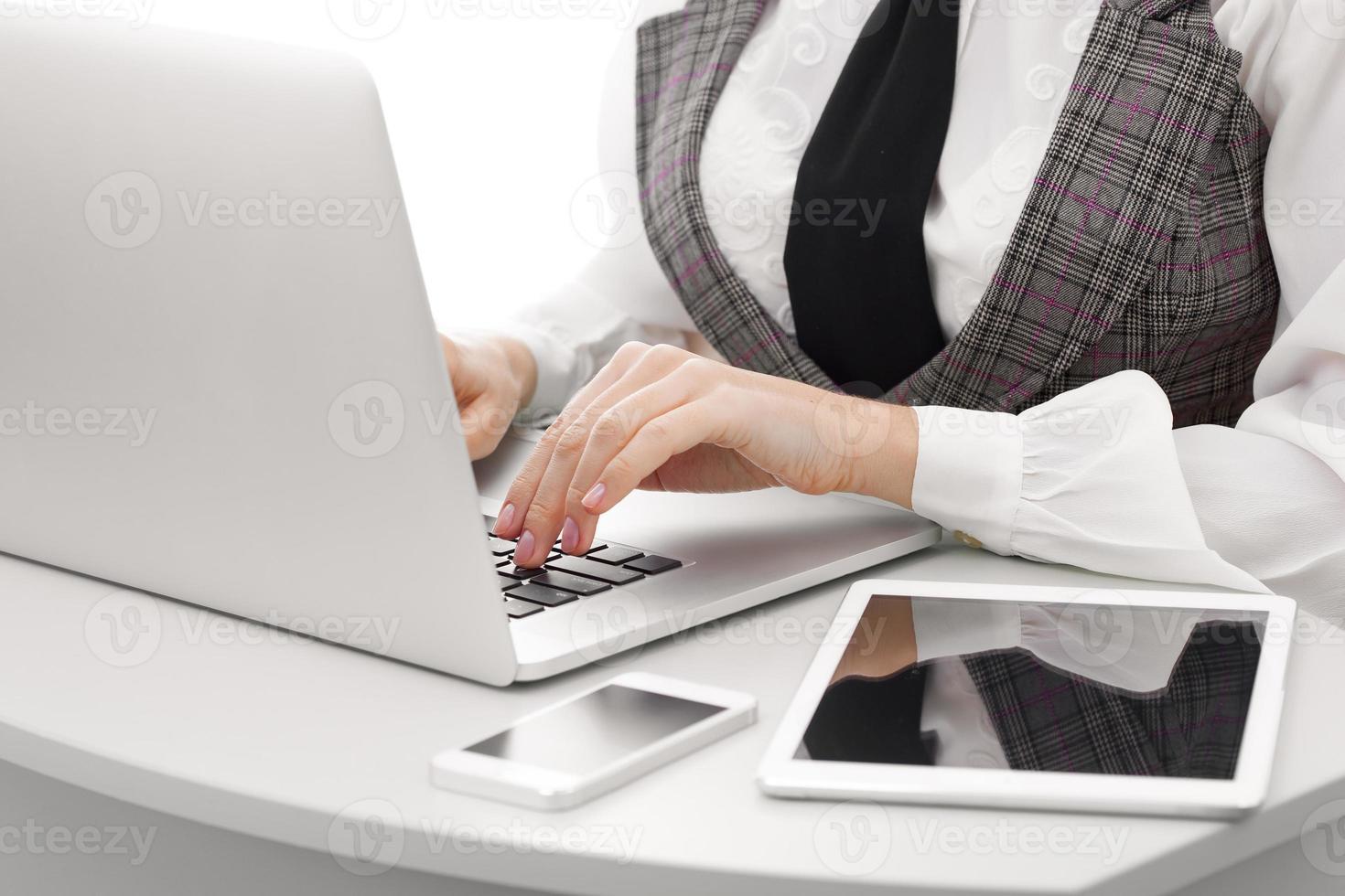 confiança do computador foto