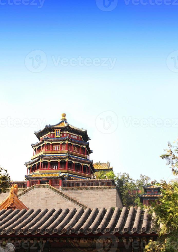 palácio de verão em beijing, china foto