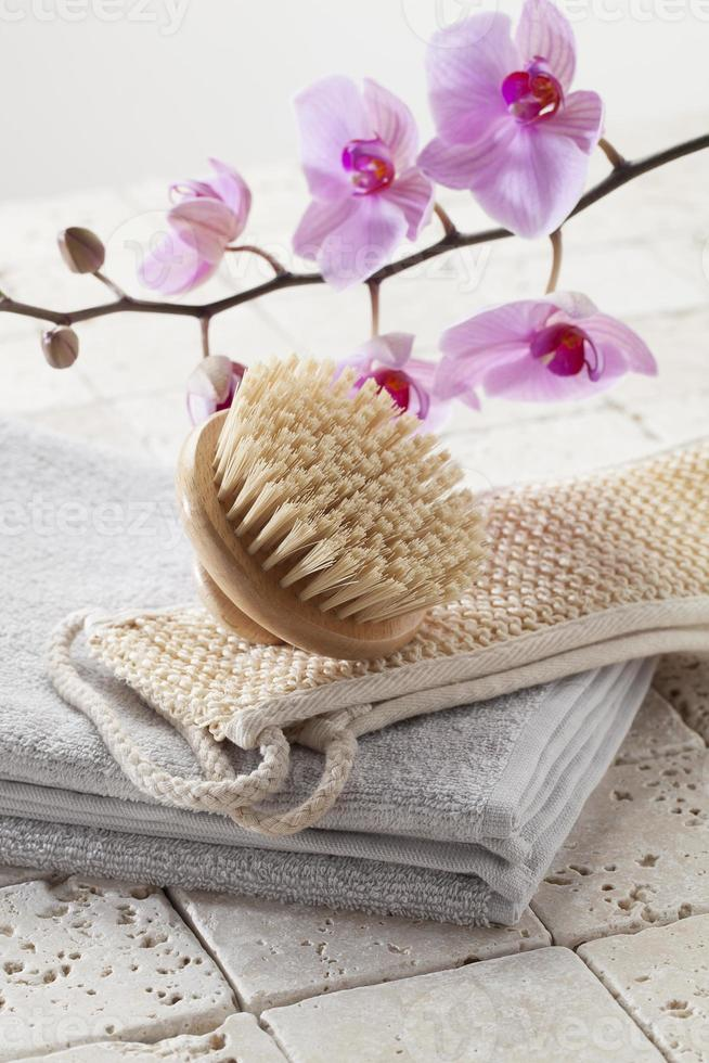 natureza-morta zen para spa de beleza e rejuvenescimento da pele foto