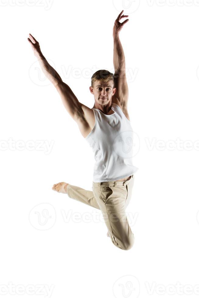 dançarino caucasiano foto