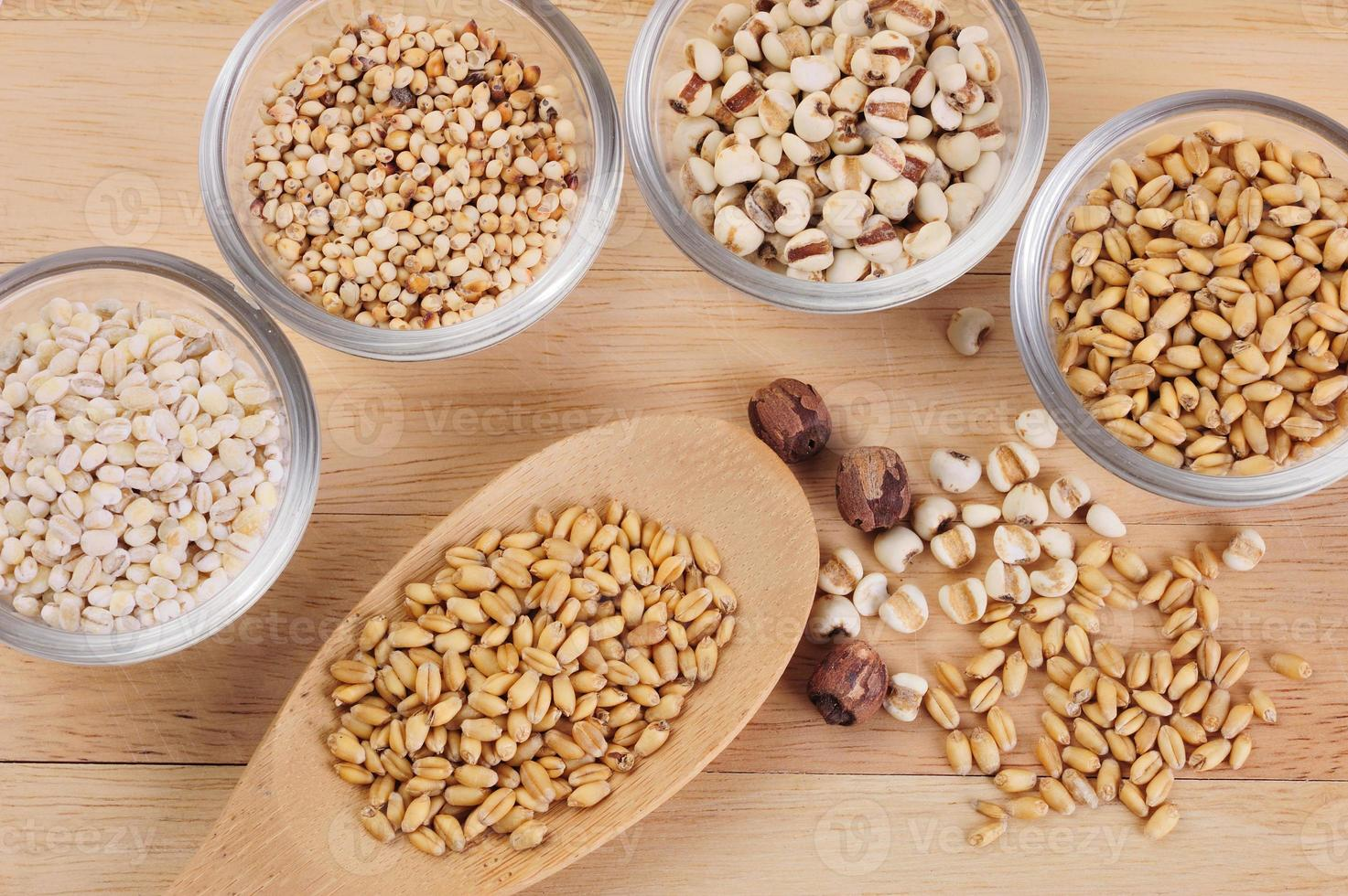 grãos e cereais foto