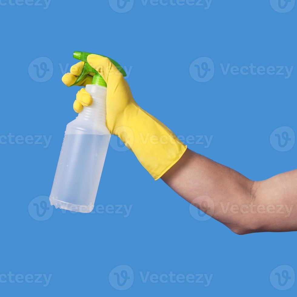 garrafa de spray foto