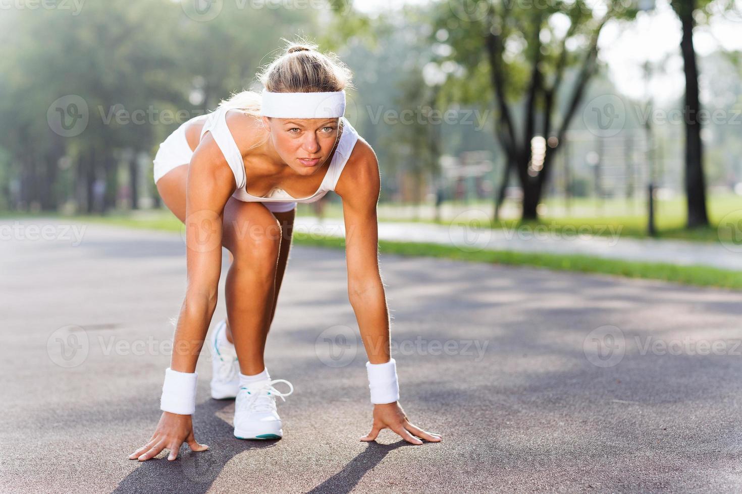 mulher esporte foto