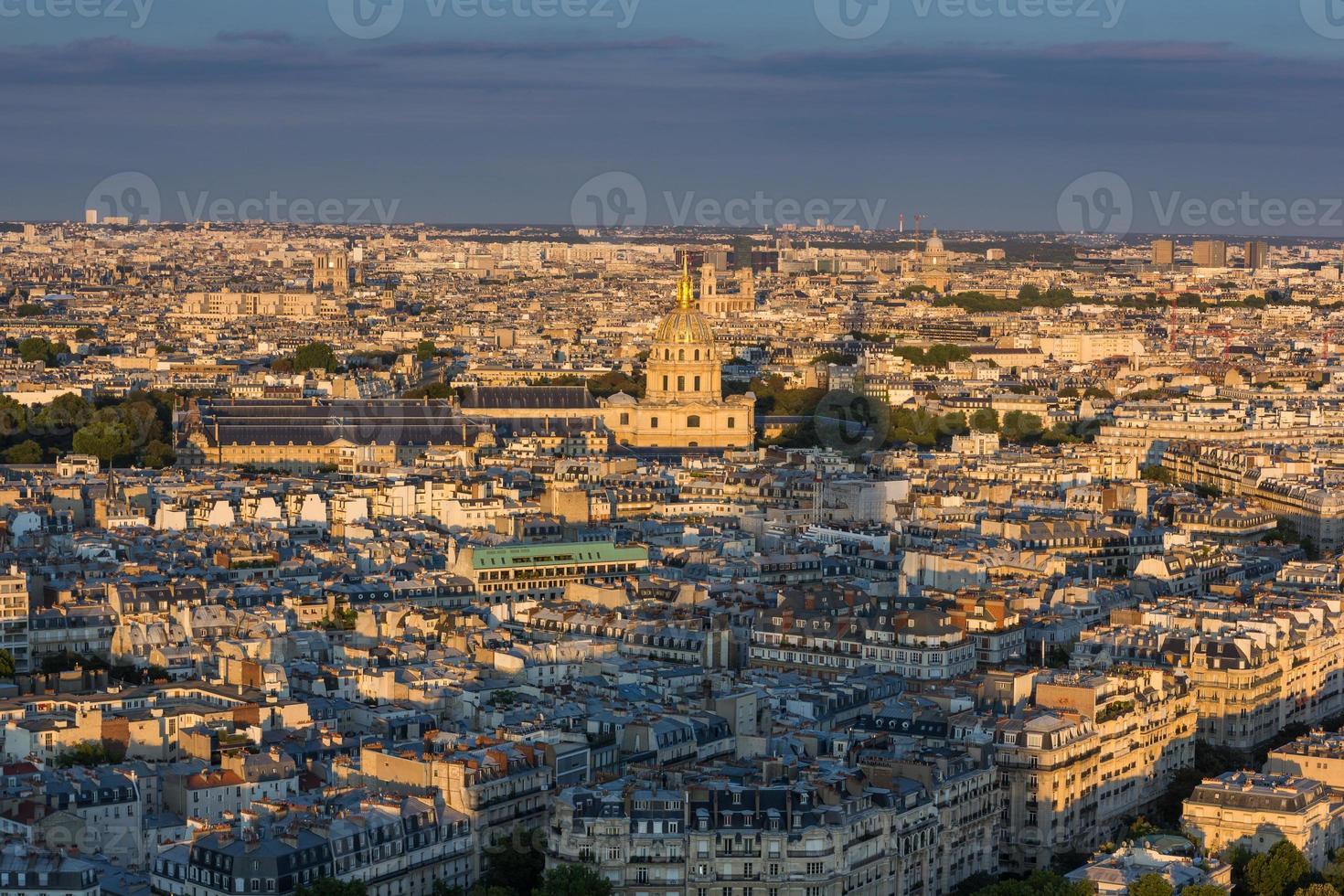 panorama de paris foto