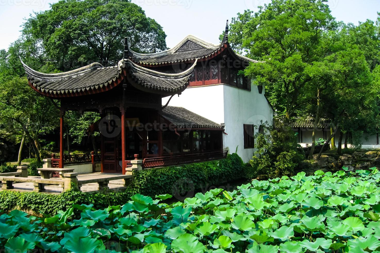 pagode chinês tradicional foto