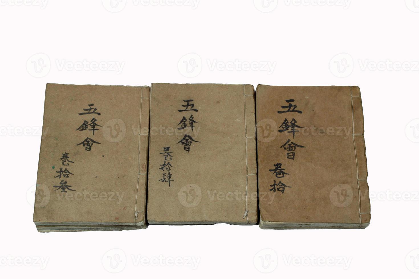 livros encadernados foto