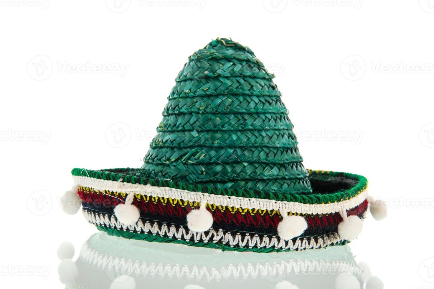 sombrero verde foto