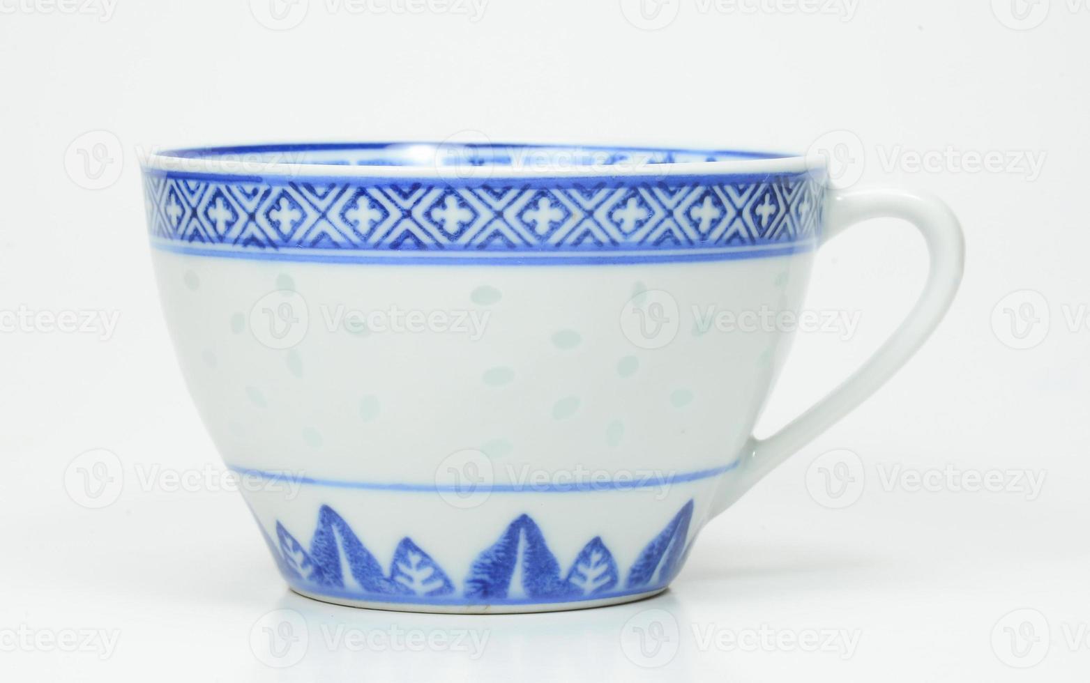 copo de porcelana da porcelana foto