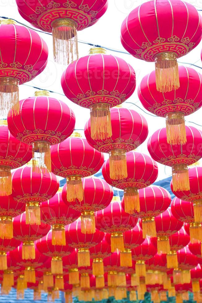 lanternas chinesas foto