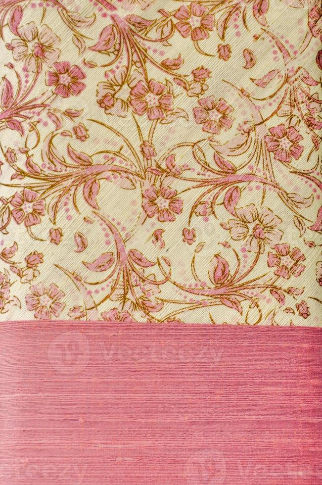 padrão de motivo de seda tailandesa foto