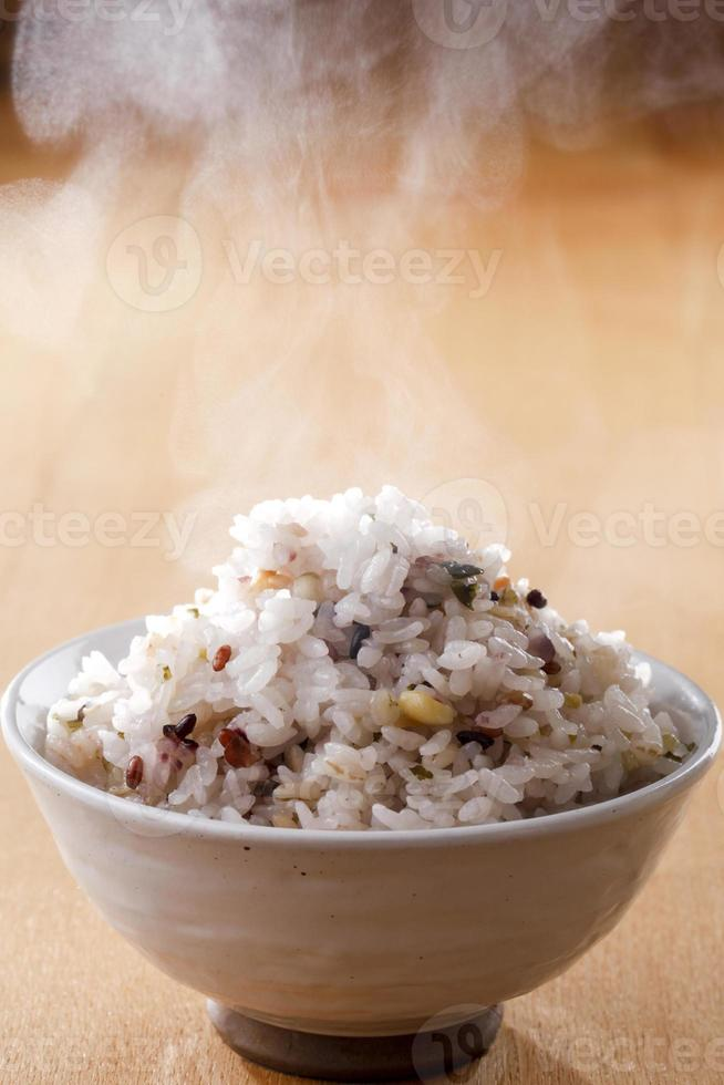 arroz milho foto