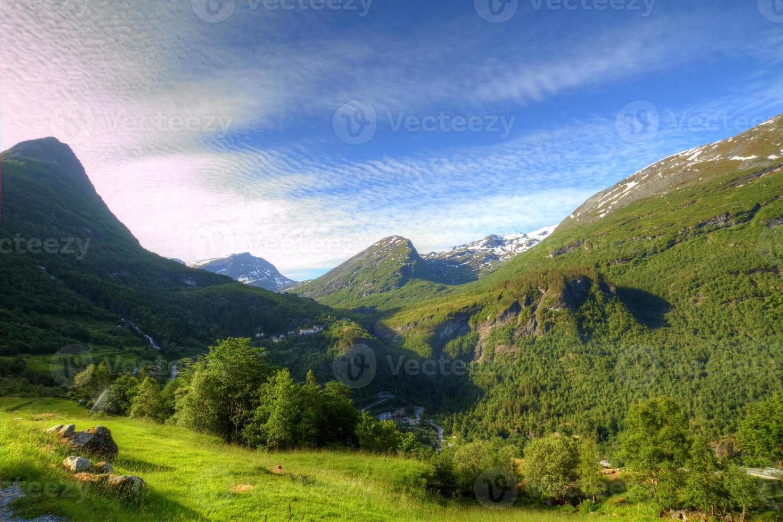 fiordes noruegueses do norte. foto