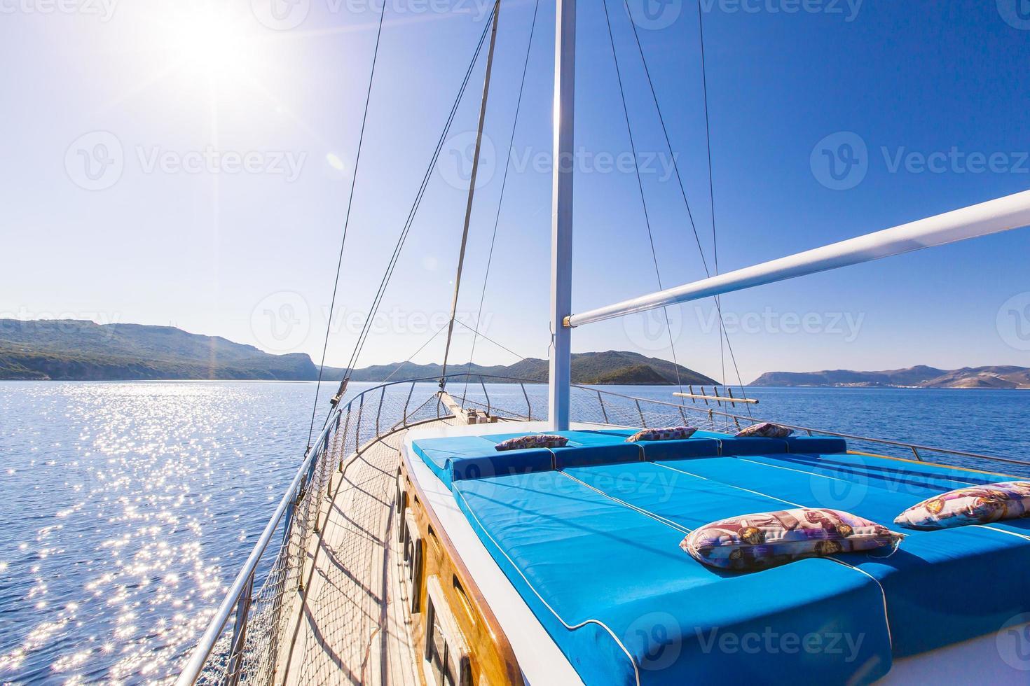 bordo do navio foto