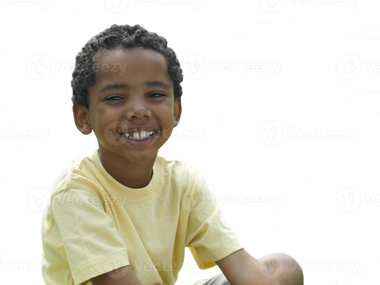 menino, sorrindo, retrato, cortar foto