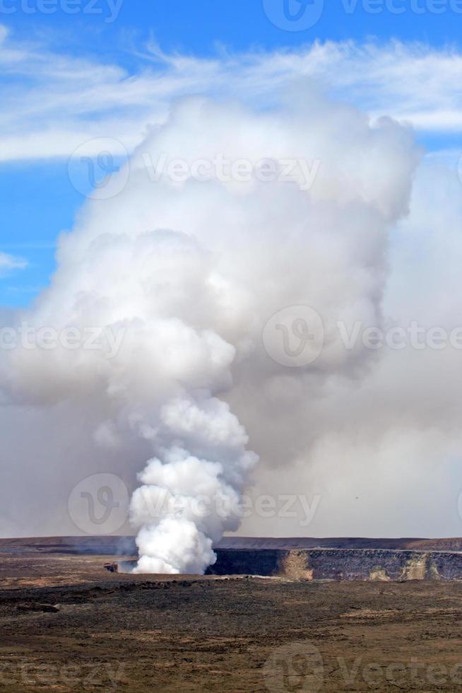 parque nacional dos vulcões de havaí, eua foto