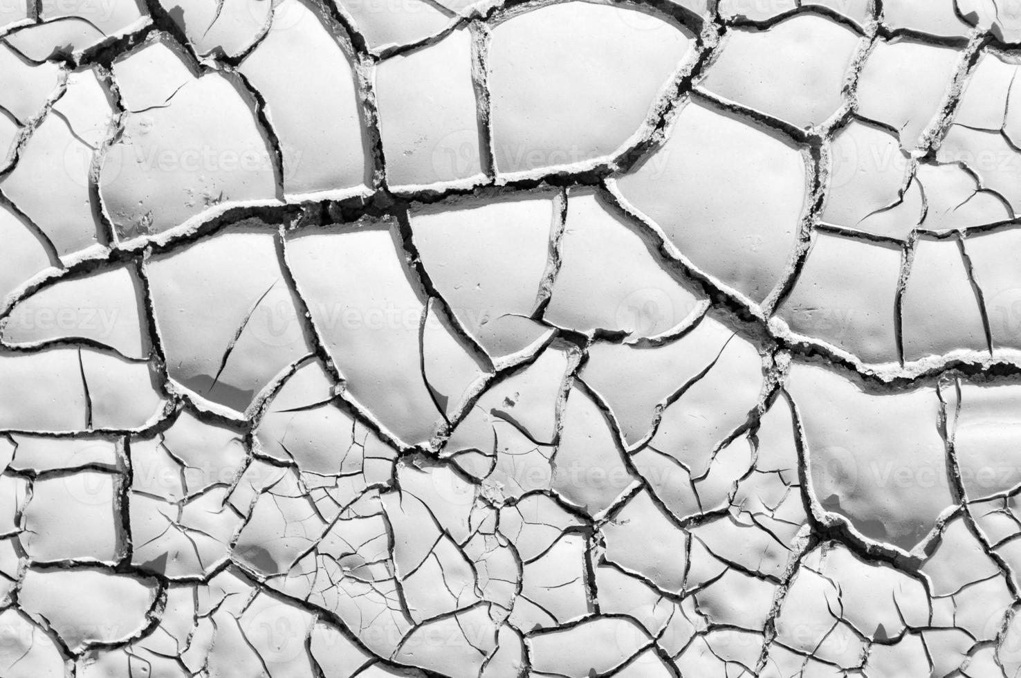 textura de terra rachada foto