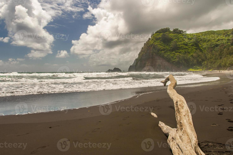 costa de kolhala ilha grande havaí foto