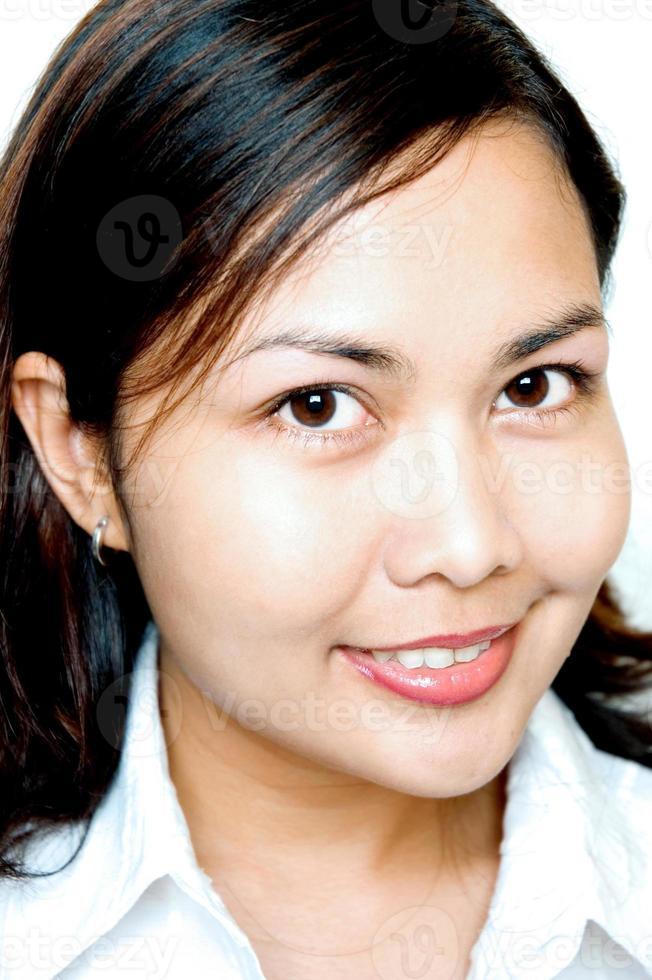 mulheres asiáticas sorrindo foto
