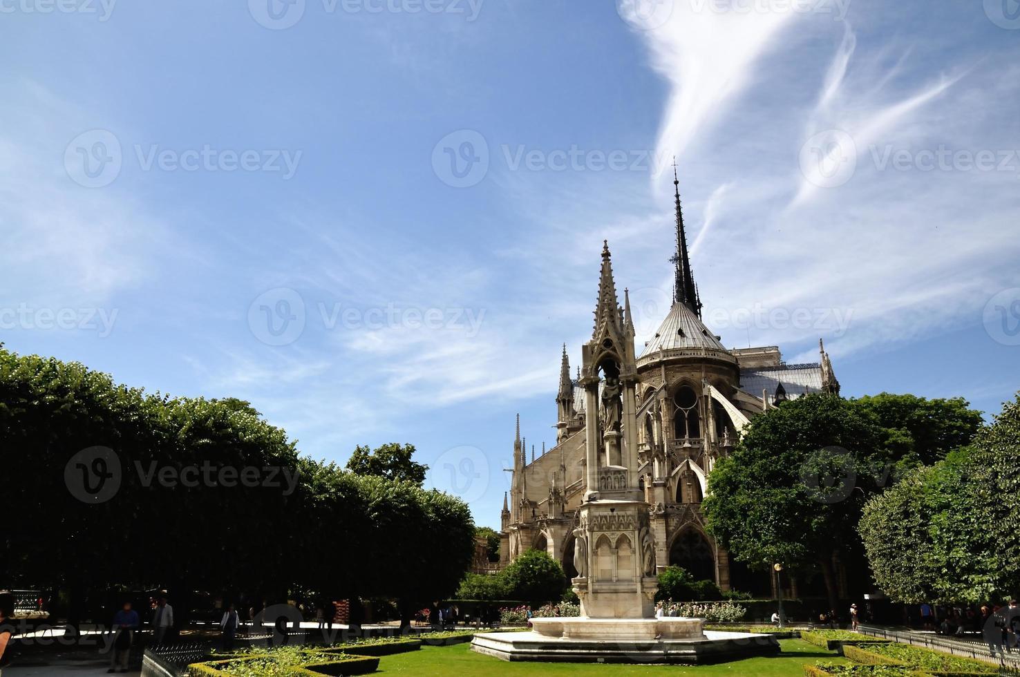 notre-dame de paris, francês foto