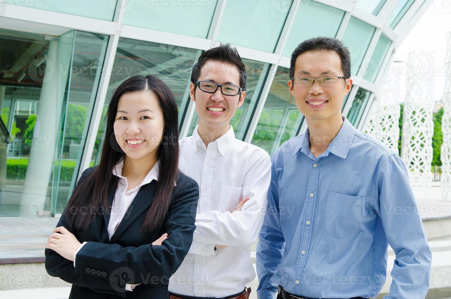 negócios asiáticos foto
