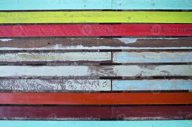 painel de madeira do grunge. foto