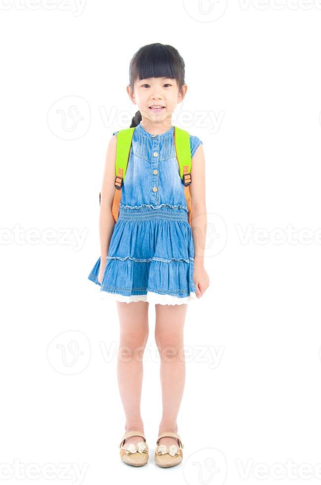 pré-escolar asiático foto