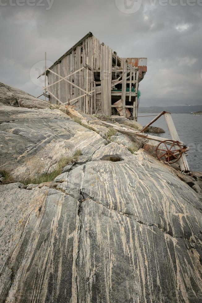 construção abandonada foto