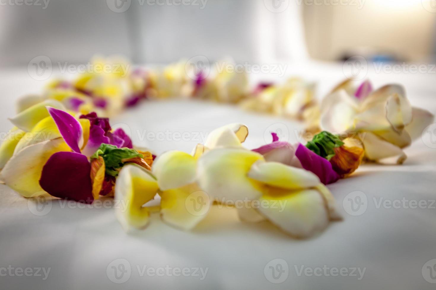 lei floral foto