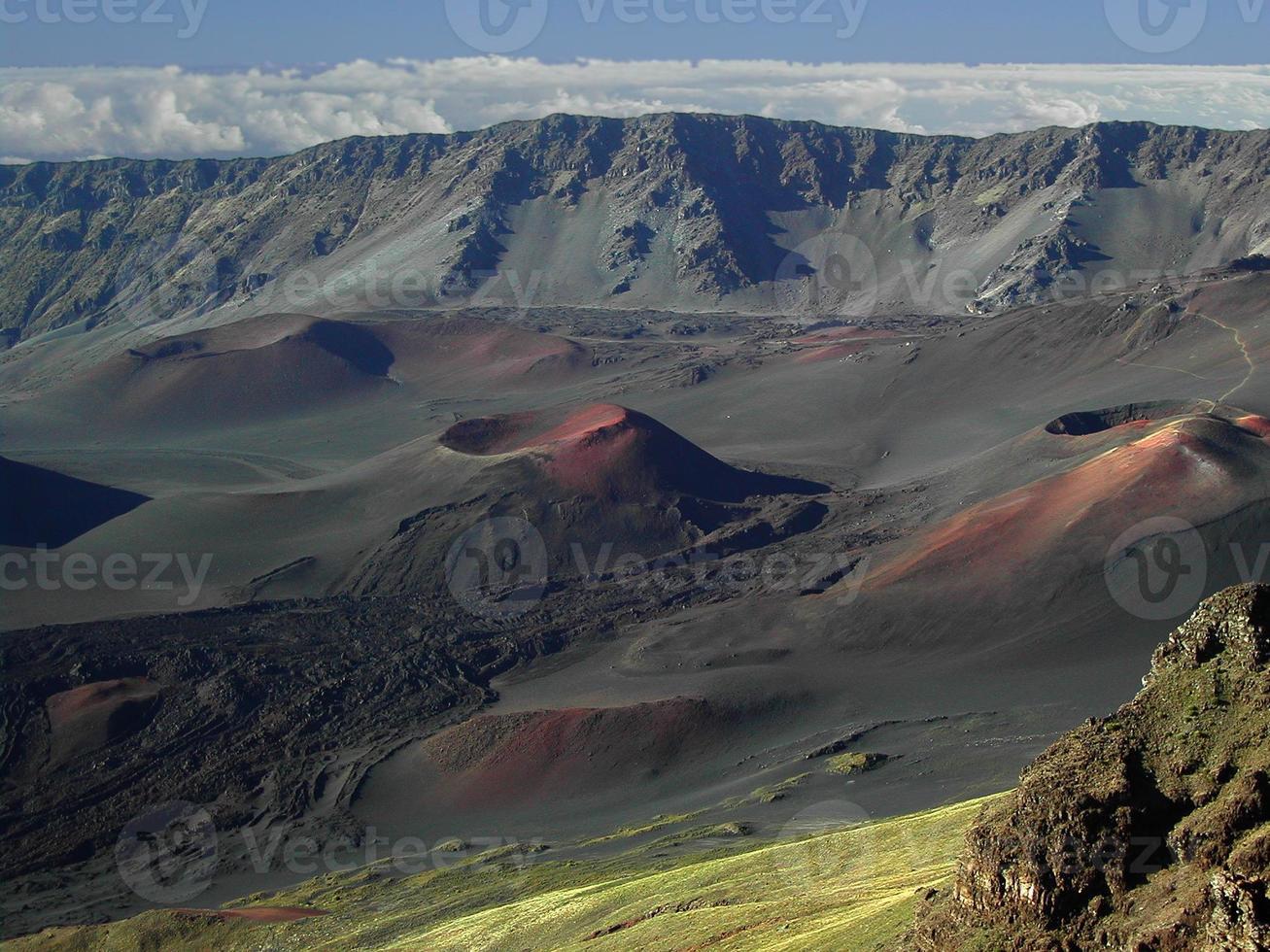 cratera haleakala foto