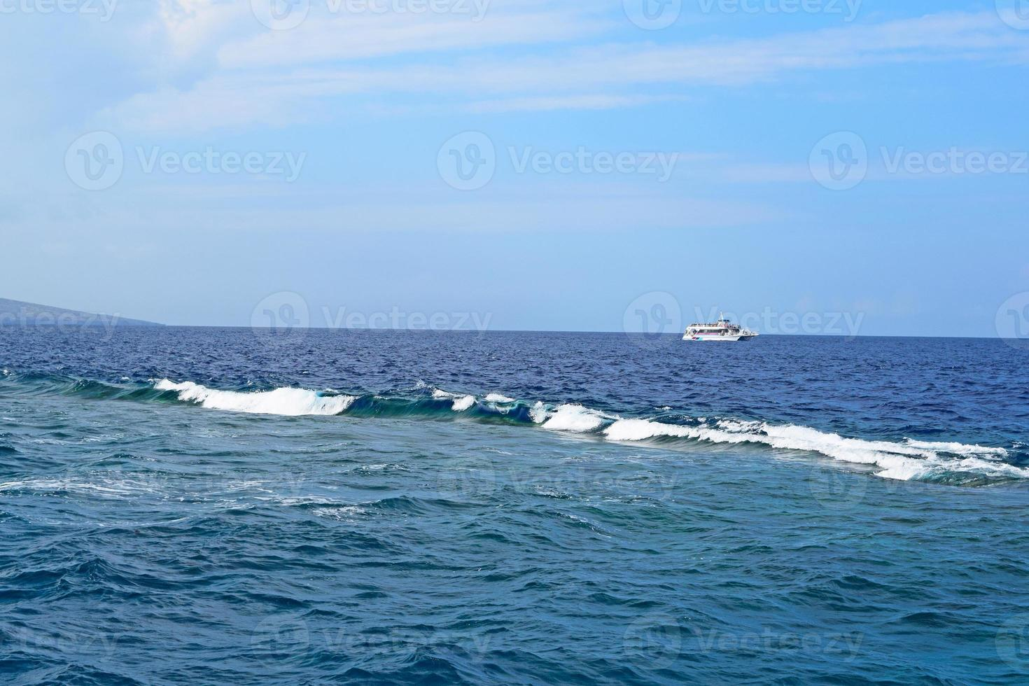 recife de molokini foto