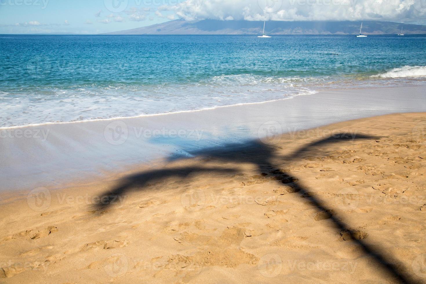 eua - havaí - maui, praia de kaanapali foto