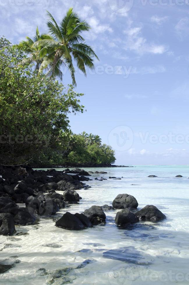 aitutaki lagoa cozinhar ilhas foto