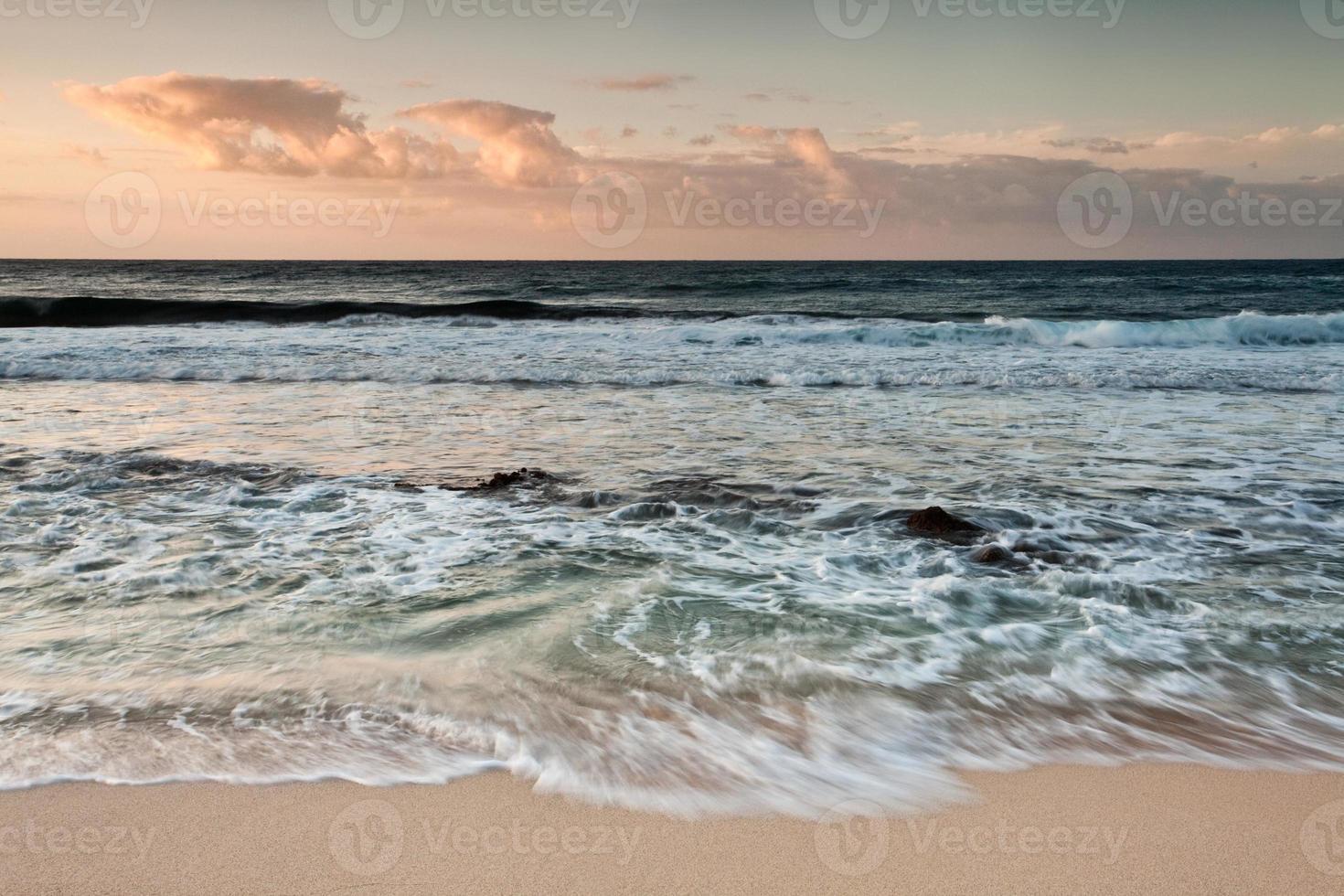 mar agitado foto