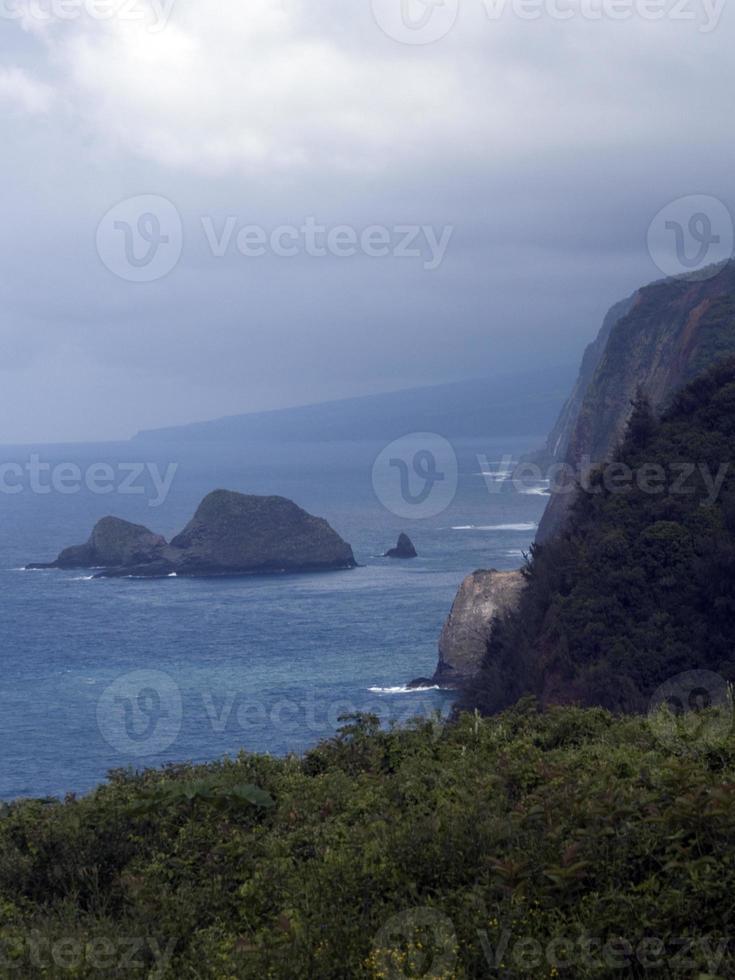 costa norte do havaí foto