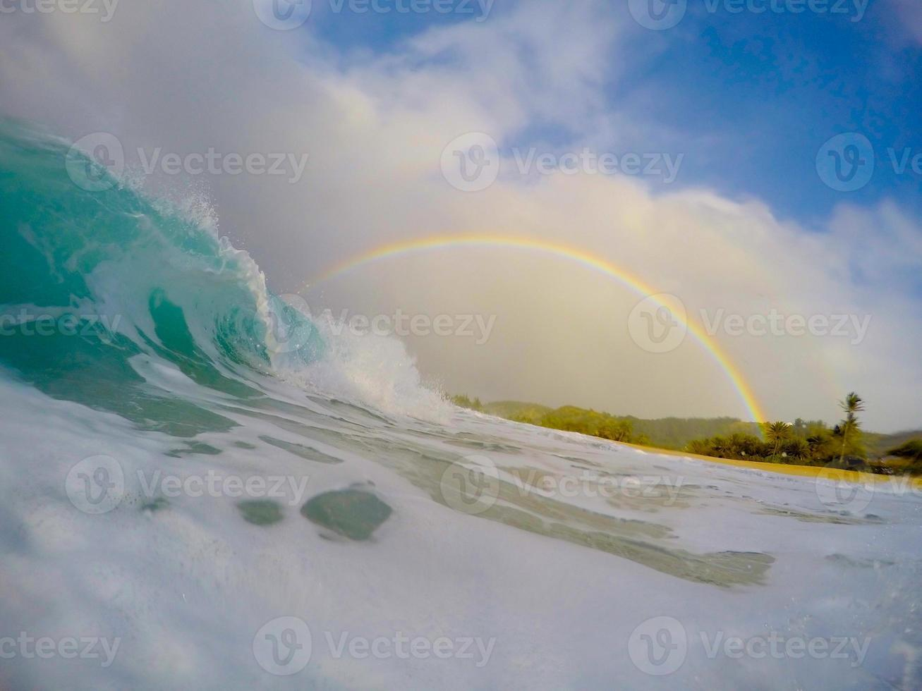 barris e arco-íris foto