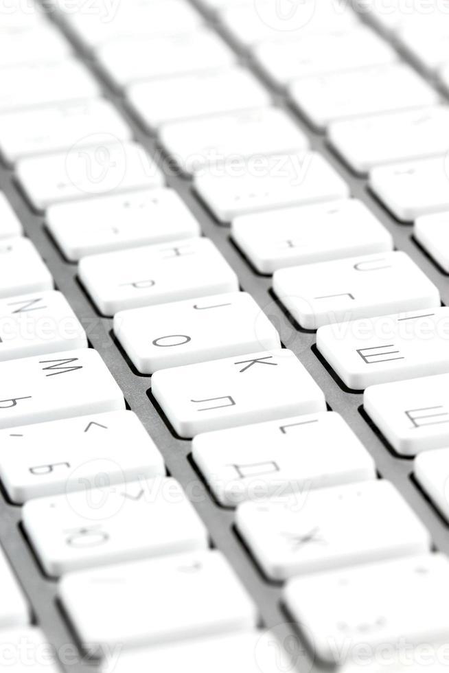 teclado de alumínio foto